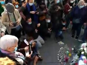 הפגנות בצרפת למען חופש הביטוי ולזכר המורה שנרצח בעריפת ראש  18.10.20