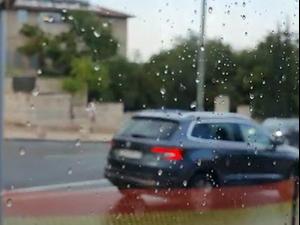 החורף הבליח: גשם ראשון לעונה בירושלים 20.10.20