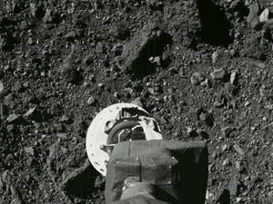 """לראשונה בהיסטוריה של ארה""""ב: חללית של נאס""""א אספה דגימות מדעיות מאסטרואיד 21.10.20"""
