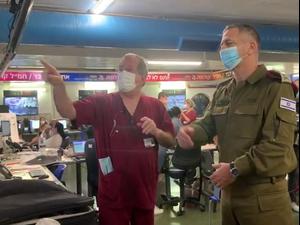 """הרמטכ""""ל: המנהרה הייתה נכס משמעותי של האויב  הרמטכ""""ל ברמב""""ם: שומרים על הבריאות בצה""""ל, ניקח סיכונים כדי לשמור על הביטחון  21.10.20"""