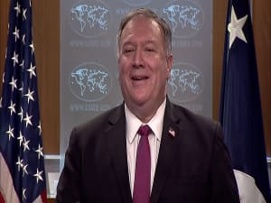 פומפאו: התחלנו בהסרת סודאן מרשימת הטרור; מקווים שינרמלו יחסים עם ישראל 21.10.20
