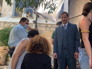 """ראש העיר צפת עם כוכבי """"מלכת היופי של ירושלים"""""""