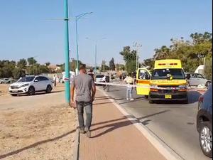 בן 9 שרכב על אופניו נהרג מפגיעת משאית באשקלון  26.10.20