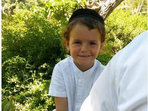 דוד אוחיון בן ה-5 שנהרג בתאונת הפגע וברח באשקלון