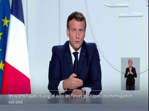 """מקרון הכריז על סגר שני בצרפת,  ביה""""ס יישארו פתוחים  29.10.20"""