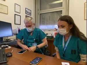 """בי""""ח הדסה מודיע למשתתף הראשון בניסוי לחיסון קורונה על היבחרותו  30.10.2020"""