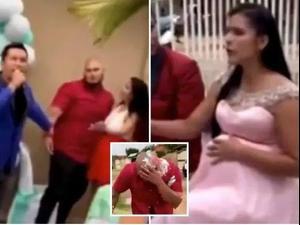 החתן חושף בחתונה שהתינוק של הכלה - לא שלו