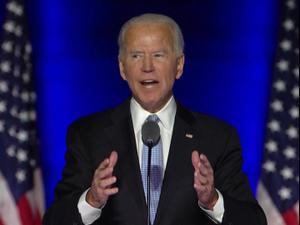 """ג'ו ביידן נשא נאום ניצחון: """"בואו ניתן הזדמנות זה לזה""""  08.11.2020"""