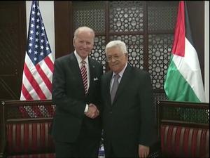 הפלסטינים מרוצים מהפסד טראמפ, אך לא מצפים לנסים מביידן 8.11.20. רויטרס