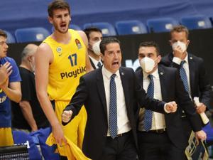 תגובות של יאניס ספרופולוס אחרי ניצחון מכבי תל אביב על ז'לגיריס קובנה