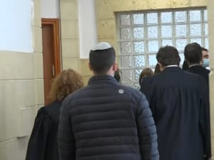 """דיון בביהמ""""ש המחוזי בירושלים בבקשת סנגורי נתניהו לקבל חומרי חקירה נוספים  15.11.2020. רוני כנפו"""