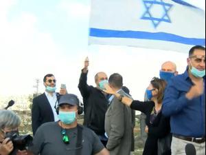 """נציגי האיחוד האירופי סיירו בגבעת המטוס, פעילי ימין קראו: """"אנטישמים"""" 16.11.20"""
