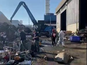 שני עובדים נהרגו בפיצוץ במפעל מתכות באשדוד; פועל נוסף במצב בינוני 17.11.20