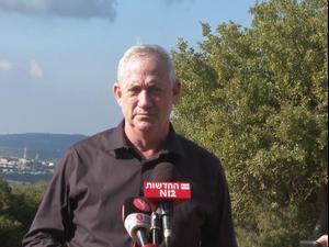 גנץ אחרי חשיפת המטענים בגבול הצםון: סוריה אחראית, אלא נעבור לסדר היום  17.11.20