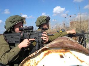 """כוח צה""""ל איתר זירת מטענים בדרום רמת הגולן  18.11.20"""