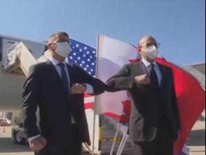 שר החוץ הבחרייני בביקור היסטורי בישראל: בקרוב ייפתחו שגרירויות  18.11.20