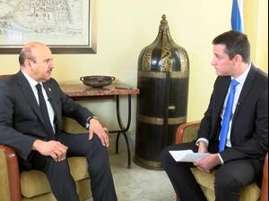 בווידאו: שר החוץ של בחריין אומר שביידן צריך להתייעץ איתם לפני הסכם עם איראן