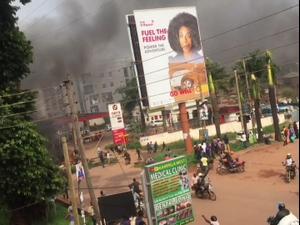 מהומות באוגנדה לאחר מעצרו של זמר פופ המתמודד לנשיאות, 37 מפגינים נהרגו 20.11.20. רויטרס