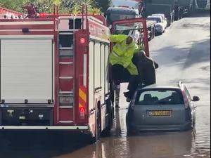 גל הצפות בעקבות הגשמים: חילוצים מרכבים ודירות ברחבי הארץ 21.11.20
