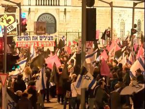 השבוע ה-22 למחאה: אלפים הפגינו ברחבי הארץ נגד נתניהו 21.11.20