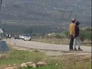 """צה""""ל סיכל פיגוע מטעני נפץ סמוך לכפר אל-מועייר בבנימין 22.11.20"""