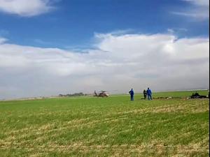 2 הרוגים בהתרסקות מטוס קל בשטח פתוח בנגב  24.11.20