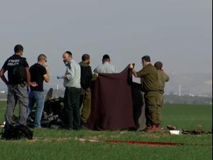 """מדריך וחניך מביה""""ס לטיסה של חיל האוויר נהרגו בהתרסקות מטוס קל בנגב 24.11.20"""