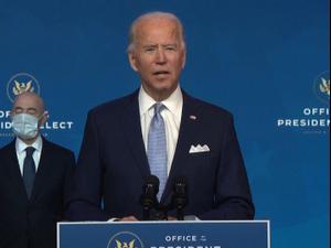 נשיא ארה״ב הנבחר, ג׳ו ביידן מציג את הצוות לביטחון לאומי  25.11.20