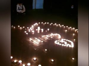 """חבריו של פרח הטייס ליהוא בן-בסה הדליקו נרות לזכרו , חברו של רס""""ן איתי זיידן ספד לו 25.11.20"""