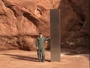 מונולית שנמצא במדבר ביוטה