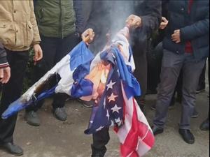 הפגנות ברחבי איראן בעקבות חיסול מדען הגרעין הבכיר 28.11.20