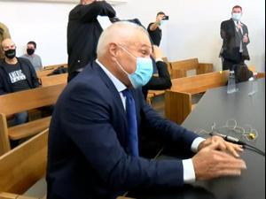שלב ההוכחות בתביעת הדיבה של יאיר נתניהו נגד מכון מולד, נתניהו נעדר בגלל מחלה  30.11.20. יותם רונן