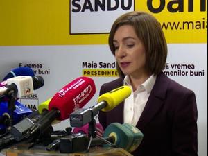 מיה סנדו זכתה בסיבוב השני בבחירות לנשיאות מולדובה  1.12.20