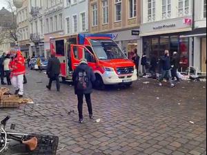 גרמניה: שני אנשים נהרגו מפגיעת כלי רכב במדרחוב בעיר טרייר 1.12.20