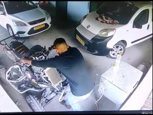 לאחר שפגע במתנדב משטרה: תושב ערערה החביא את הטרקטורון עליו נהג