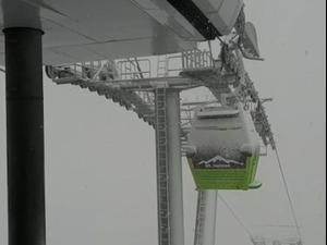 שבת חורפית: שלג ראשון באתר החרמון, גשם לפרקים ברחבי הארץ  05.12.2020. אתר החרמון, אתר רשמי