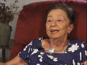 עדותה של ניצולת השואה אלכסנדרה (אולה) פלונסקי שהלכה לעולמה 10.12.2020. יד ושם