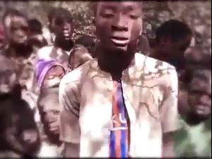 חטיפת התלמידים בניגריה: בוקו חראם פרסמו סרטון ובו נראים החטופים 17.12.20. טוויטר, צילום מסך