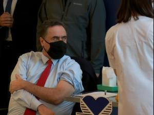 """מבצע """"לתת כתף"""": מאות אנשי צוותים רפואיים התחסנו נגד קורונה  20.12.20. ניב אהרונסון"""