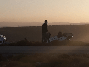 נער נהרג במהלך מרדף בשומרון; המשטרה: הנוסעים יידו אבנים לעבר פלסטינים  21.12.20. TPS
