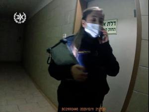 מעצר צעיר שרצח את אמו ברחובות 30.12.20. -, דוברות משטרת ישראל