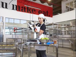 MAKE EAT, מטבח מקצועי ליצרני מזון קטנים, ראשון לציון. אפיק גבאי,