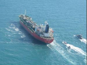 איראן השתלטה על ספינה דרום קוריאנית במפרץ, סיאול שלחה כוחות 4.1.21. רויטרס