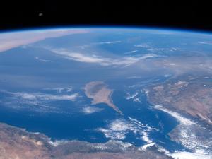 צילומים של כדור הארץ מתחנת החלל הבינלאומית. NASA, אתר רשמי