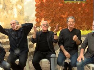 """ריאיון של שגיא בן נון עם חמשת כוכבי """"זהו זה"""" - גידי גוב, שלמה בראבא, מוני מושונוב, דבל'ה גליקמן ואבי קושניר, בעקבות הוצאת שיר מקורי לראשונה מזה כ-30 שנה. ינואר 2021. ניב אהרונסון"""