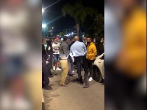 מפגינים על מות אהוביה סנדק תוקפים שוטרים ביישוב חשמונאים 10.1.21. -, אתר רשמי