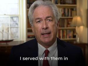 ביידן ימנה את הדיפלומט הוותיק וויליאם ברנס לראש ה-CIA 11.1.21. טוויטר, צילום מסך