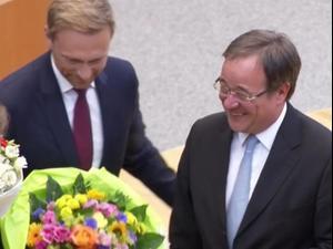 """מפלגת השלטון בגרמניה בחרה בארמין לאשט כיו""""ר החדש 16.01.21. רויטרס, רויטרס"""
