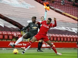 תקציר: ליברפול - מנצ'סטר יונייטד 0:0. רויטרס