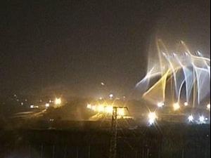רקטה ששוגרה מרצועת עזה התפוצצה בשטח פתוח סמוך לנחל עוז 19.01.21. מערכת וואלה! NEWS, מערכת וואלה! NEWS